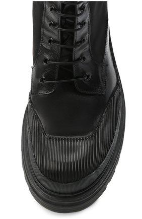 Мужские комбинированные ботинки PREMIATA черного цвета, арт. 31709/SELUX/NYAP | Фото 5