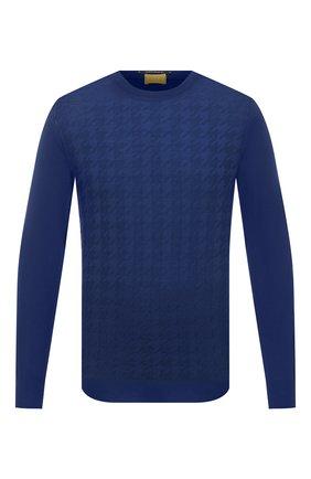Мужской шерстяной джемпер SVEVO синего цвета, арт. 13083SA20/MP13 | Фото 1