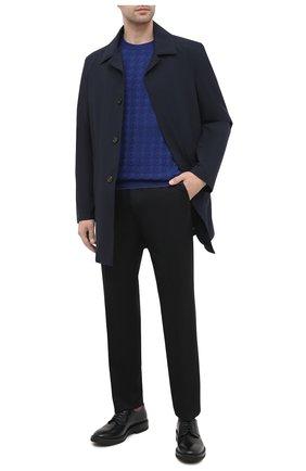 Мужской шерстяной джемпер SVEVO синего цвета, арт. 13083SA20/MP13 | Фото 2