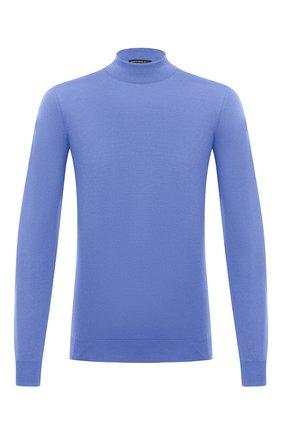 Мужской шерстяная водолазка SVEVO голубого цвета, арт. 1314/3SA20/MP13 | Фото 1