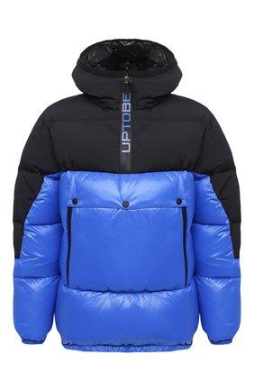 Мужская пуховая куртка UPTOBE синего цвета, арт. UPW0/BALTIM0RA   Фото 1