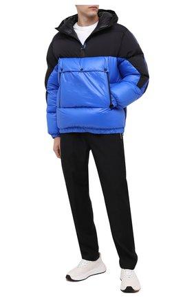 Мужская пуховая куртка UPTOBE синего цвета, арт. UPW0/BALTIM0RA   Фото 2