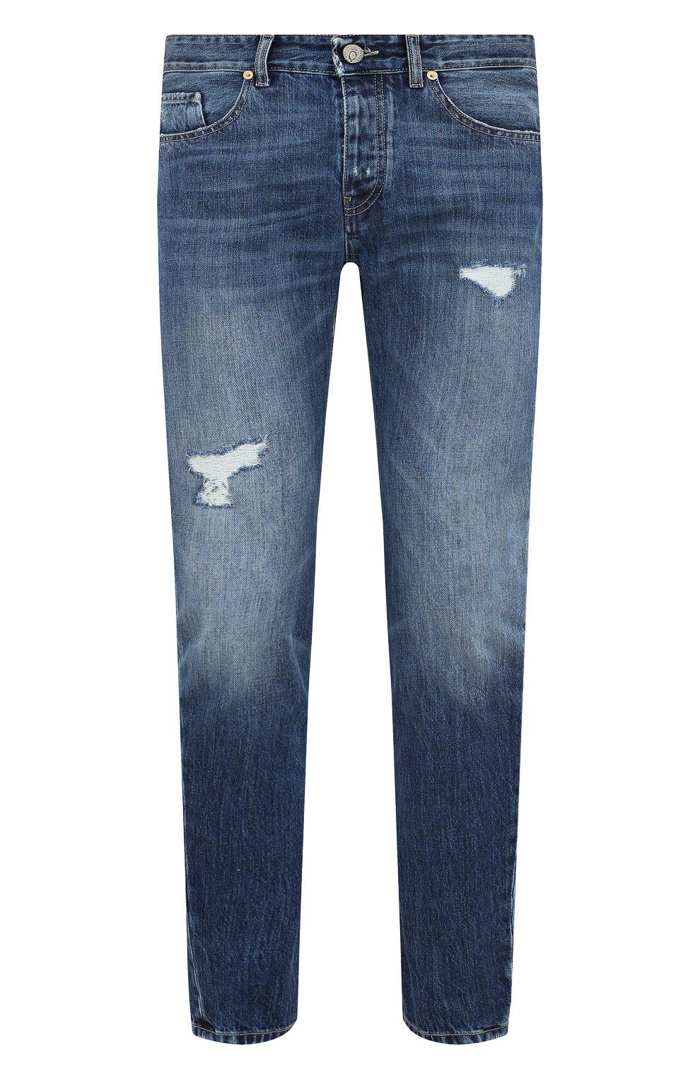Мужские джинсы PREMIUM MOOD DENIM SUPERIOR синего цвета, арт. F21 352740215/BARRET | Фото 1