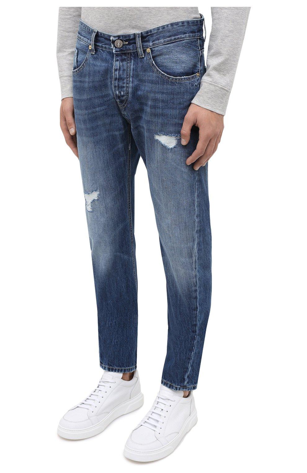 Мужские джинсы PREMIUM MOOD DENIM SUPERIOR синего цвета, арт. F21 352740215/BARRET | Фото 3