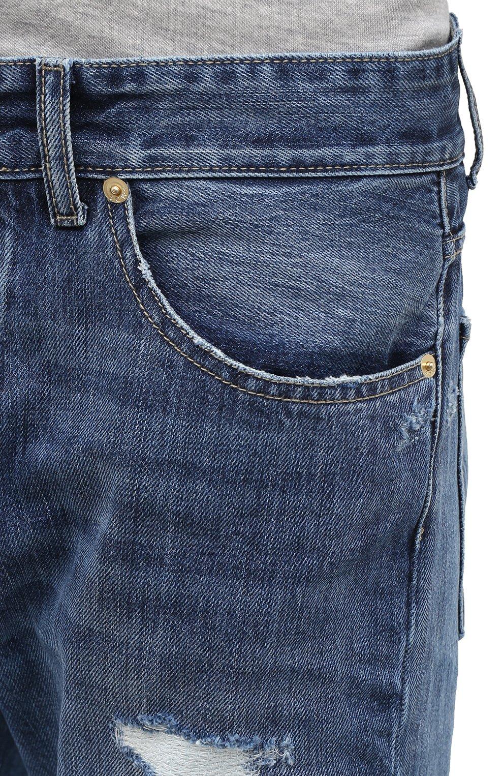 Мужские джинсы PREMIUM MOOD DENIM SUPERIOR синего цвета, арт. F21 352740215/BARRET | Фото 5