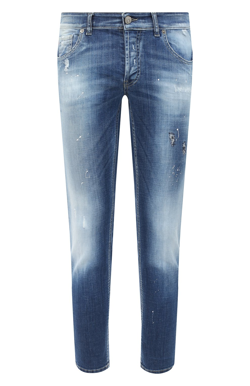 Мужские джинсы PREMIUM MOOD DENIM SUPERIOR синего цвета, арт. F21 310340025/PAUL   Фото 1