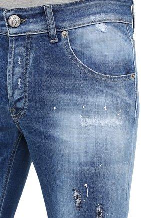 Мужские джинсы PREMIUM MOOD DENIM SUPERIOR синего цвета, арт. F21 310340025/PAUL   Фото 5