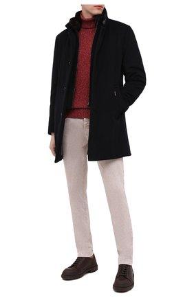 Мужской кашемировое пальто bond MOORER темно-синего цвета, арт. B0ND/FUR-LE/A20M060LEN0 | Фото 2
