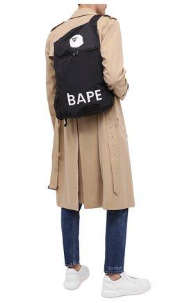 Мужской текстильный рюкзак BAPE черного цвета, арт. 1G80182012 | Фото 2