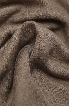 Мужской шарф из шерсти и шелка RICK OWENS бежевого цвета, арт. RU20F3462 | Фото 2