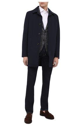 Мужской шерстяной пиджак SARTORIA LATORRE темно-серого цвета, арт. G0I7EF Q80767 | Фото 2