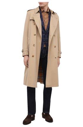 Мужской шерстяной пиджак SARTORIA LATORRE синего цвета, арт. G0I7MF Q80574 | Фото 2