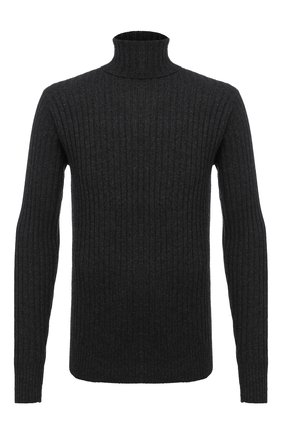 Мужской свитер из шерсти и кашемира ASPESI темно-серого цвета, арт. W0 Q M358 3831   Фото 1