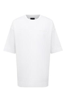 Мужская хлопковая футболка JUUN.J белого цвета, арт. JC0742P011 | Фото 1