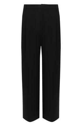 Мужской шерстяные брюки JUUN.J черного цвета, арт. JC0821P515 | Фото 1