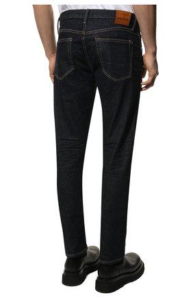Мужские джинсы TOM FORD темно-синего цвета, арт. BVJ18/TFD002 | Фото 4