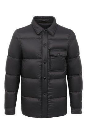 Мужская пуховая куртка TOM FORD черного цвета, арт. BV060/TF0370   Фото 1