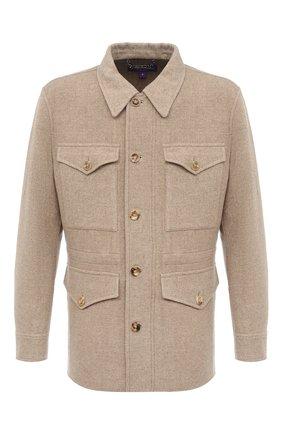 Мужская шерстяная куртка RALPH LAUREN бежевого цвета, арт. 790799303 | Фото 1