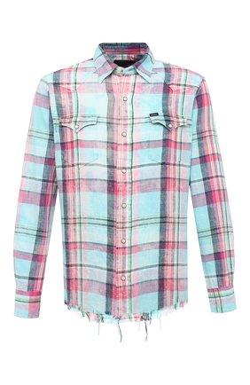 Мужская хлопковая рубашка POLO RALPH LAUREN разноцветного цвета, арт. 710796342/4771 | Фото 1