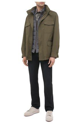 Мужская рубашка TOM FORD хаки цвета, арт. 8FT910/94VSEG | Фото 2