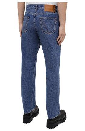 Мужские джинсы VETEMENTS синего цвета, арт. MAH21PA136 2802   Фото 5