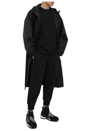 Мужские кроссовки crazy byw ADIDAS ORIGINALS BY PHARRELL WILLIAMS черного цвета, арт. EG9919 | Фото 2