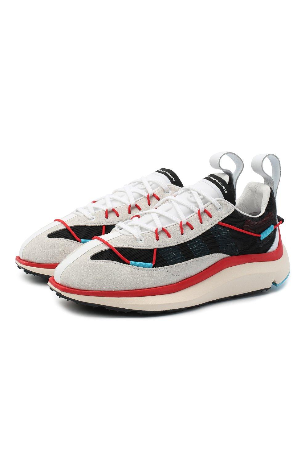 Мужские комбинированные кроссовки shiku run Y-3 разноцветного цвета, арт. FX1414/M | Фото 1