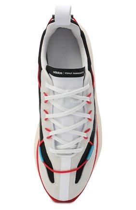 Мужские комбинированные кроссовки shiku run Y-3 разноцветного цвета, арт. FX1414/M | Фото 5