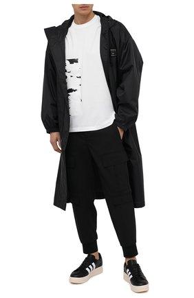 Мужские кожаные кеды hicho Y-3 черного цвета, арт. FX1752/M | Фото 2