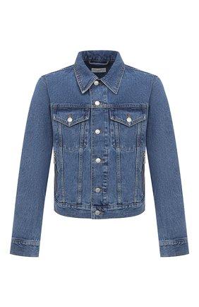 Мужская джинсовая куртка DRIES VAN NOTEN голубого цвета, арт. 202-20531-1386 | Фото 1