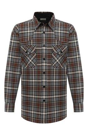 Мужская хлопковая рубашка DRIES VAN NOTEN разноцветного цвета, арт. 202-20719-1166 | Фото 1
