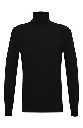 Мужской водолазка EMPORIO ARMANI черного цвета, арт. 6H1MX4/1MIRZ   Фото 1