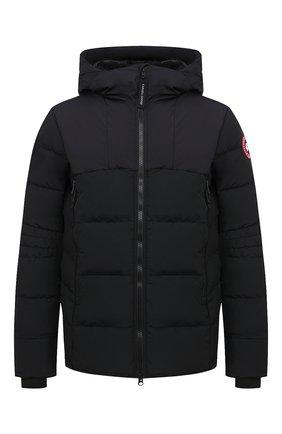 Мужская пуховая куртка hybridge CANADA GOOSE черного цвета, арт. 2742M | Фото 1