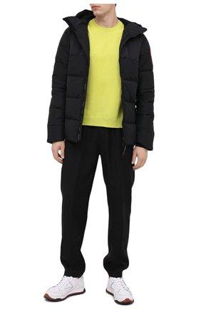 Мужская пуховая куртка hybridge CANADA GOOSE черного цвета, арт. 2742M | Фото 2