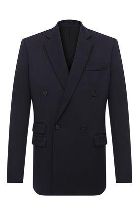 Мужской шерстяной пиджак STELLA MCCARTNEY темно-синего цвета, арт. 601835/SPA03 | Фото 1