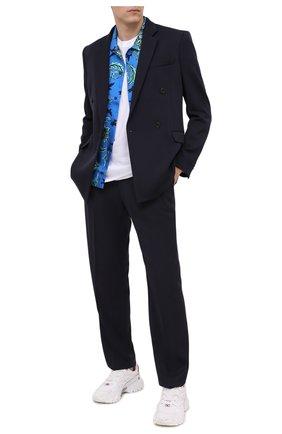 Мужской шерстяной пиджак STELLA MCCARTNEY темно-синего цвета, арт. 601835/SPA03 | Фото 2