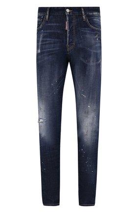 Мужские джинсы DSQUARED2 синего цвета, арт. S71LB0777/S30342 | Фото 1