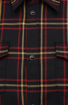Мужская хлопковая рубашка DSQUARED2 разноцветного цвета, арт. S74DM0457/S52983 | Фото 5