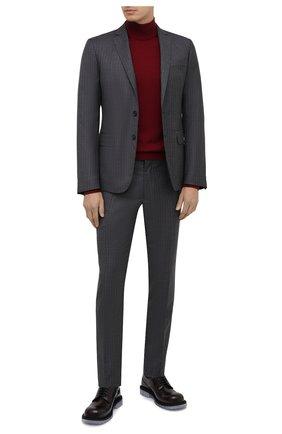 Мужской шерстяной костюм DSQUARED2 серого цвета, арт. S74FT0406/S53033 | Фото 1