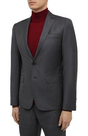 Мужской шерстяной костюм DSQUARED2 серого цвета, арт. S74FT0406/S53033 | Фото 2