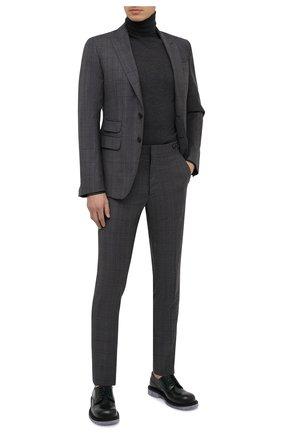 Мужской шерстяной костюм DSQUARED2 темно-серого цвета, арт. S74FT0407/S53015 | Фото 1