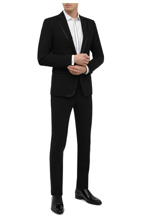 Мужской шерстяной смокинг DSQUARED2 черного цвета, арт. S74FT0413/S40320 | Фото 1