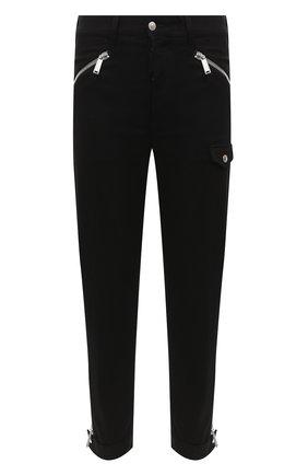 Мужской хлопковые брюки DSQUARED2 черного цвета, арт. S74KB0416/S30564 | Фото 1