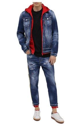 Мужские джинсы DSQUARED2 синего цвета, арт. S74LB0799/S30309 | Фото 2