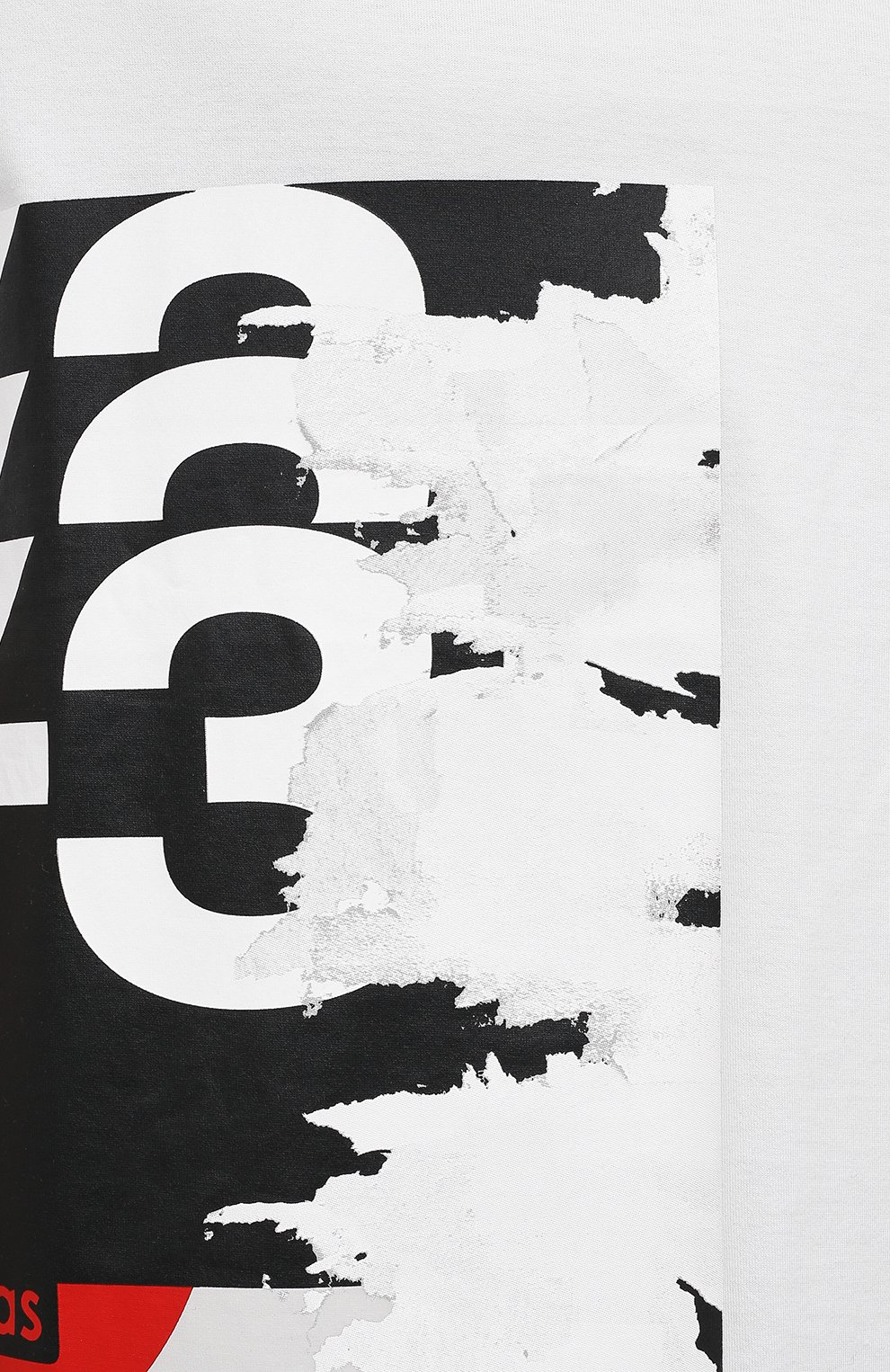 Мужская хлопковая футболка Y-3 белого цвета, арт. GK4389/M | Фото 5