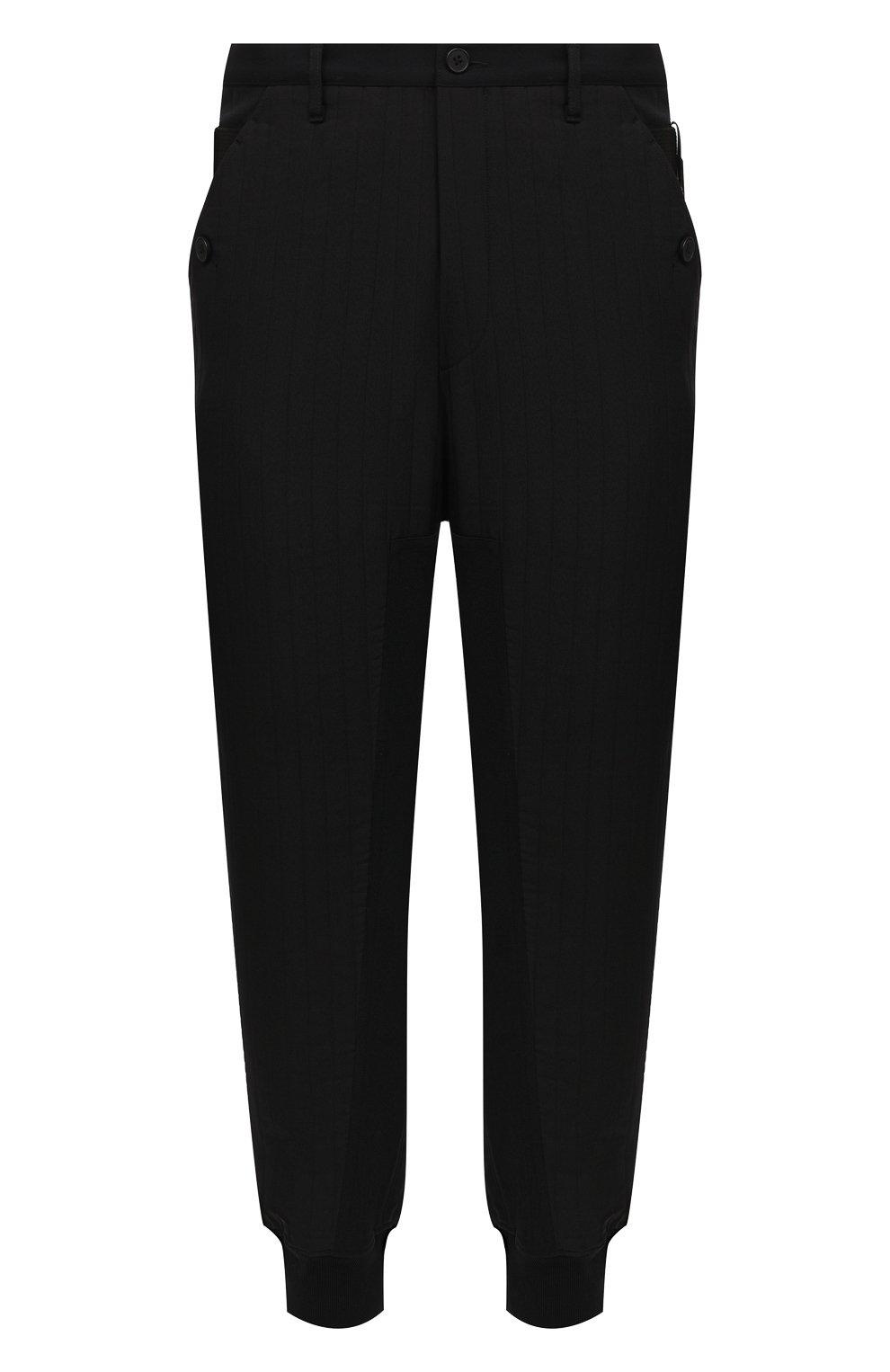 Мужские джоггеры Y-3 черного цвета, арт. GK4370/M | Фото 1