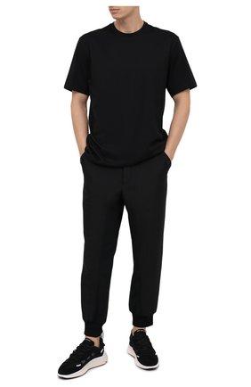 Мужские джоггеры Y-3 черного цвета, арт. GK4370/M | Фото 2