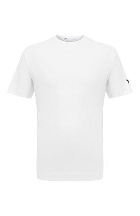 Мужская хлопковая футболка Y-3 белого цвета, арт. GK4360/M | Фото 1