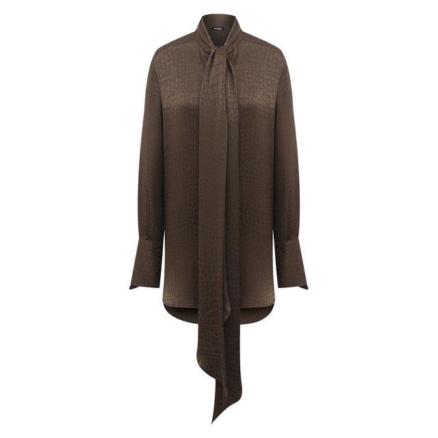Шелковая блузка Kiton