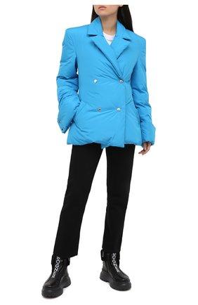 Женские кожаные ботинки BOGNER черного цвета, арт. 203-K923/BANFF 3A | Фото 2